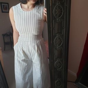 White and black Jumpsuits
